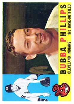 1960 Topps #243 Bubba Phillips