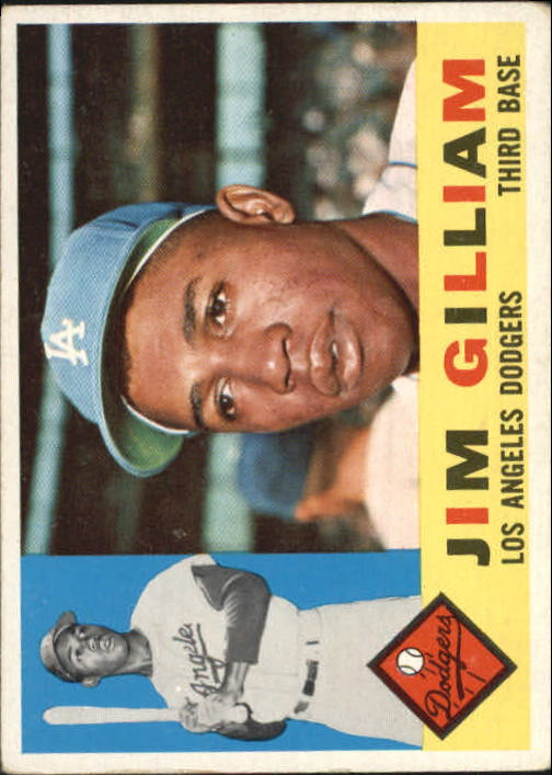 1960 Topps #255 Jim Gilliam