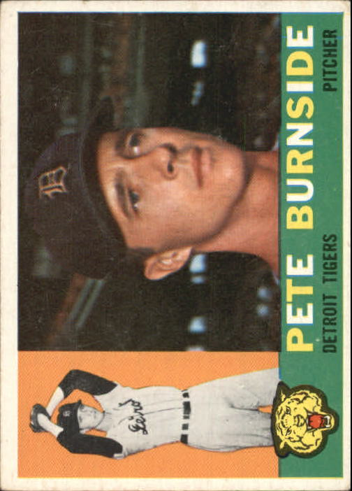 1960 Topps #261 Pete Burnside
