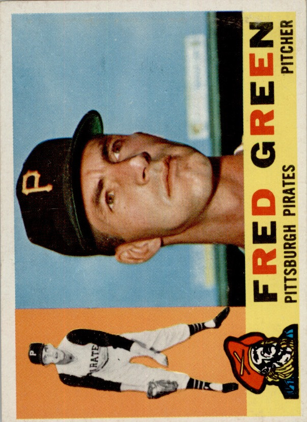 1960 Topps #272 Fred Green RC