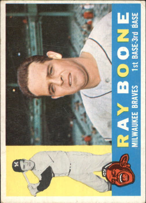 1960 Topps #281 Ray Boone