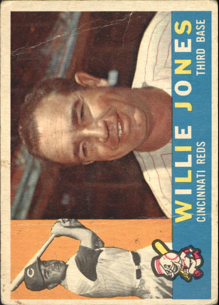 1960 Topps #289 Willie Jones