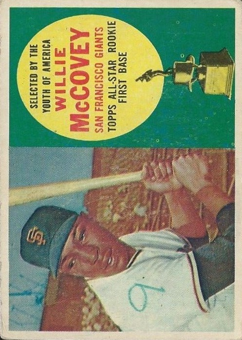1960 Topps #316 Willie McCovey ASR RC