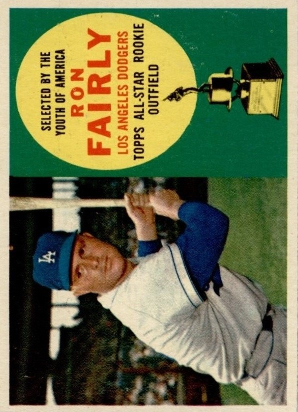 1960 Topps #321 Ron Fairly ASR
