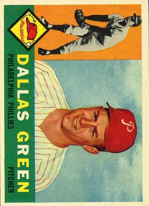 1960 Topps #366 Dallas Green RC