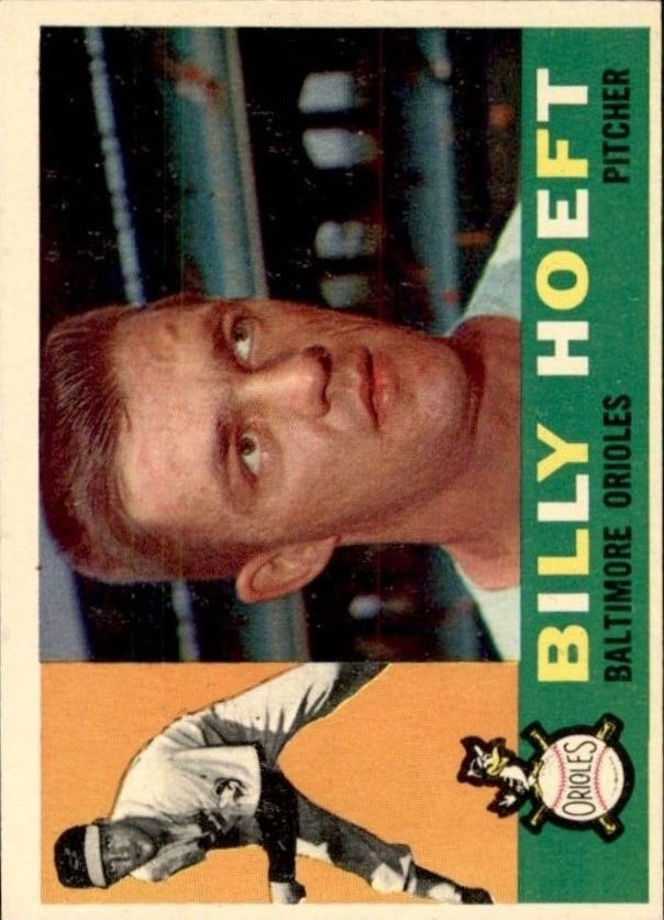 1960 Topps #369 Billy Hoeft
