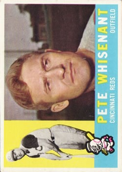1960 Topps #424 Pete Whisenant