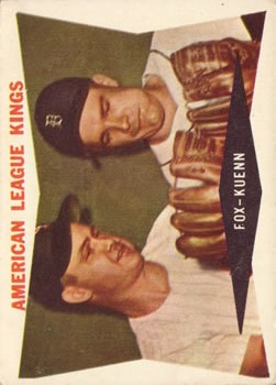 1960 Topps #429 American League Kings/Nellie Fox/Harvey Kuenn