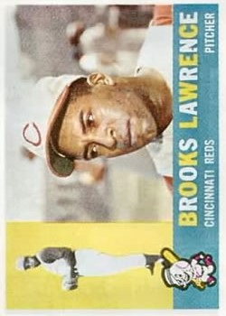 1960 Topps #434 Brooks Lawrence