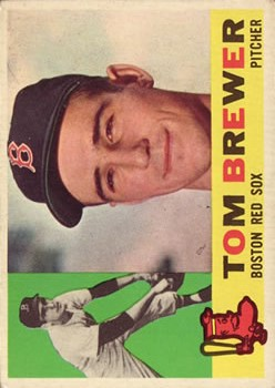 1960 Topps #439 Tom Brewer