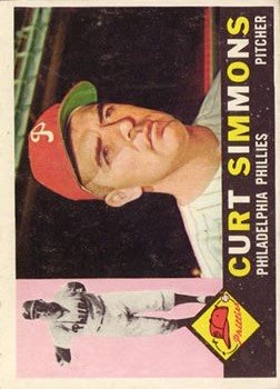 1960 Topps #451 Curt Simmons