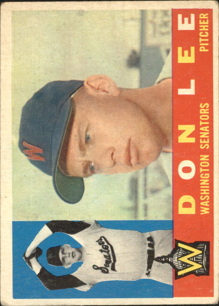 1960 Topps #503 Don Lee
