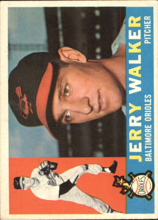 1960 Topps #540 Jerry Walker