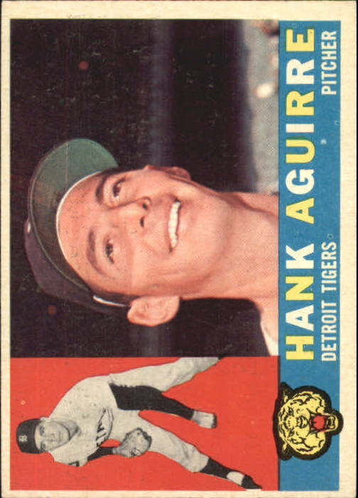 1960 Topps #546 Hank Aguirre