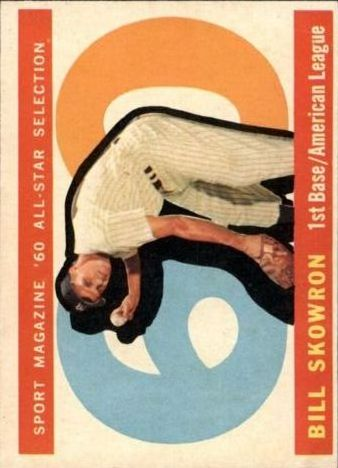 1960 Topps #553 Bill Skowron AS