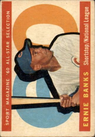 1960 Topps #560 Ernie Banks AS