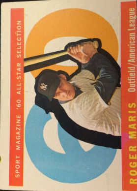 1960 Topps #565 Roger Maris AS