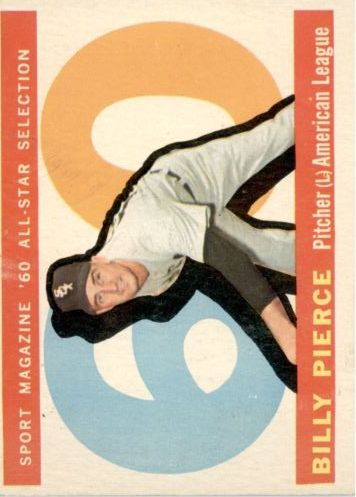 1960 Topps #571 Billy Pierce AS