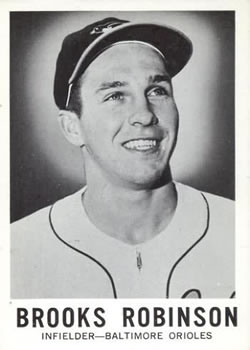 1960 Leaf #27 Brooks Robinson
