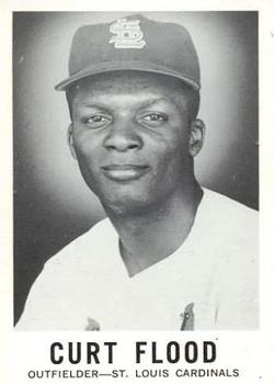1960 Leaf #141 Curt Flood