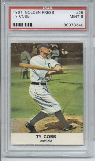 1961 Golden Press #25 Ty Cobb
