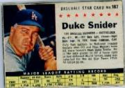1961 Post #167A Duke Snider COM