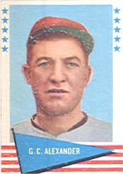 1961 Fleer #2 Grover C. Alexander