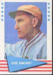 1961 Fleer #7 Dave Bancroft