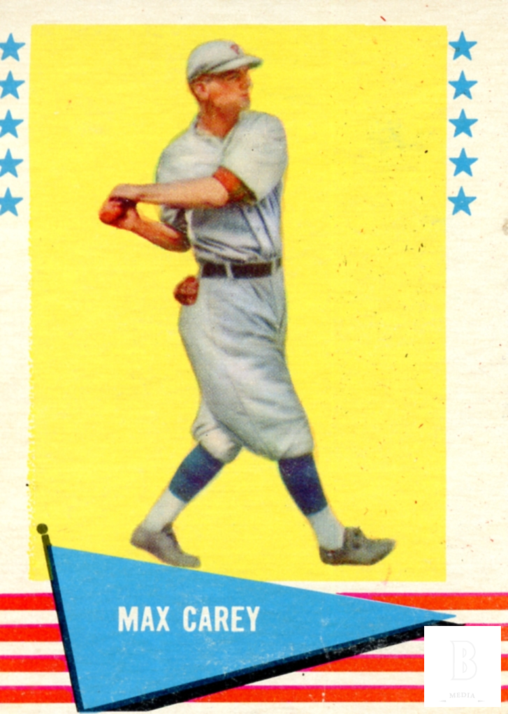 1961 Fleer #12 Max Carey
