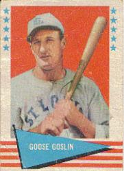 1961 Fleer #35 Goose Goslin