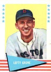 1961 Fleer #38 Lefty Grove