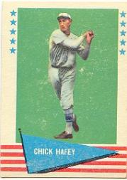 1961 Fleer #39 Chick Hafey