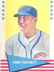 1961 Fleer #41 Gabby Hartnett
