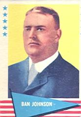 1961 Fleer #48 Ban Johnson