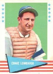1961 Fleer #55 Ernie Lombardi