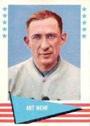 1961 Fleer #65 Art Nehf