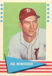 1961 Fleer #66 Hal Newhouser