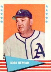 1961 Fleer #67 Bobo Newsom
