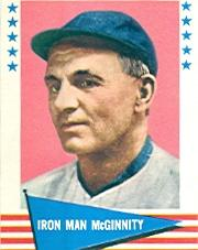 1961 Fleer #126 Joe McGinnity