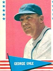 1961 Fleer #146 George Uhle