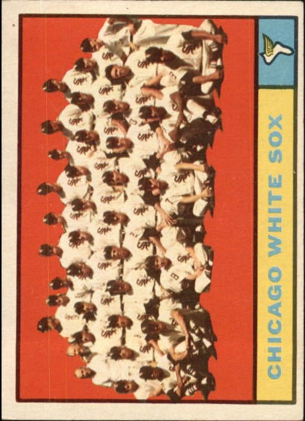 1961 Topps #7 Chicago White Sox TC