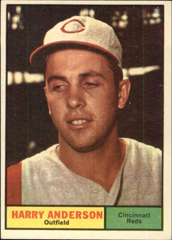 1961 Topps #76 Harry Anderson