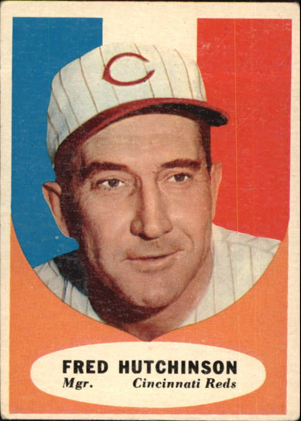 1961 Topps #135 Fred Hutchinson MG