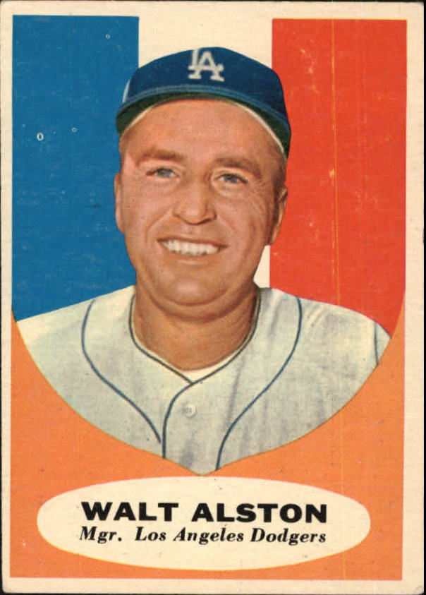 1961 Topps #136 Walter Alston MG
