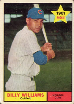 1961 Topps #141 Billy Williams RC