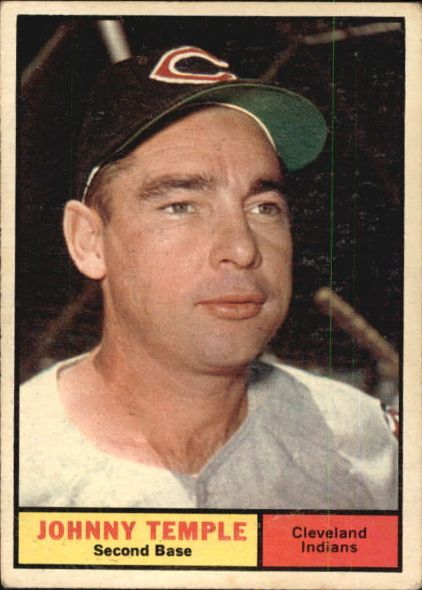 1961 Topps #155 Johnny Temple
