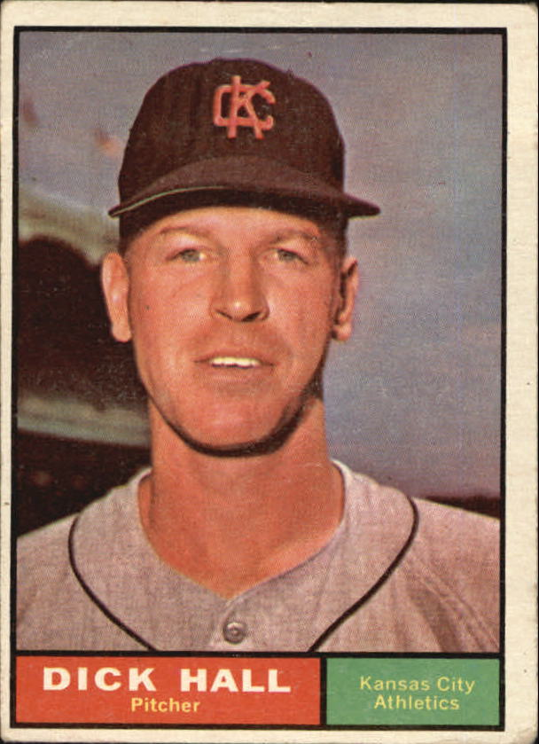 1961 Topps #197 Dick Hall