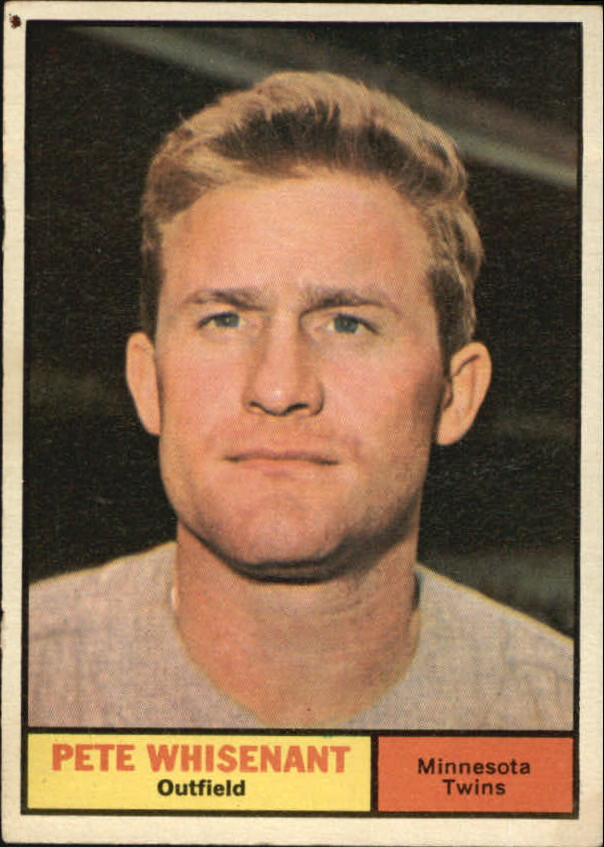 1961 Topps #201 Pete Whisenant