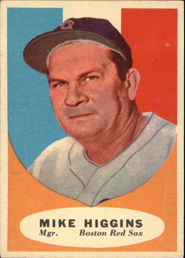 1961 Topps #221 Mike Higgins MG