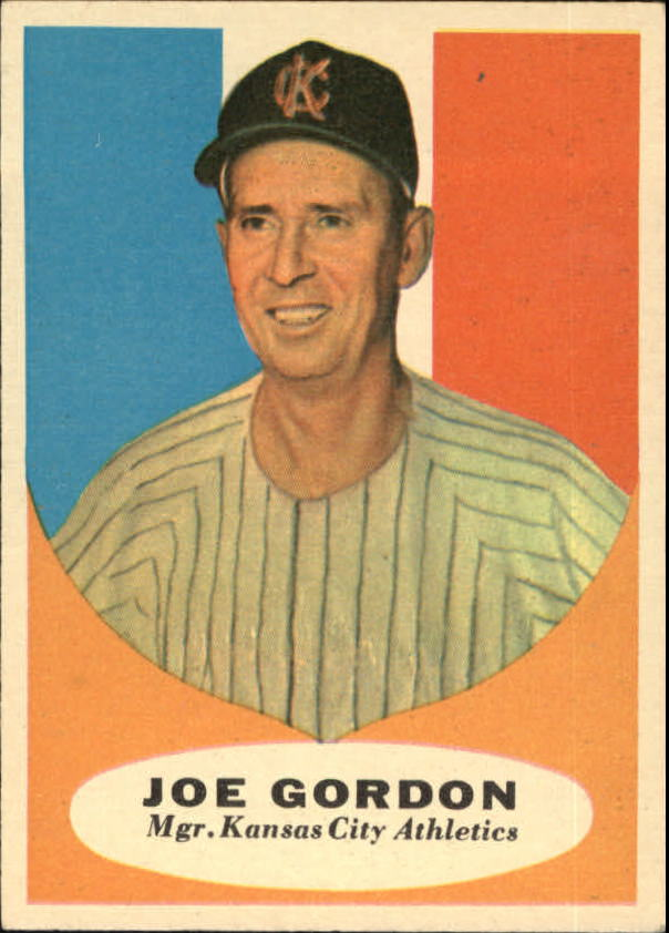 1961 Topps #224 Joe Gordon MG